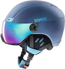 Uvex Hlmt 400 Visor Style Navy Blue Mat