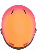 Uvex Hlmt 400 Visor Style Pink Orange Metal Mat