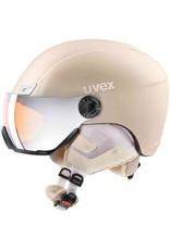 Uvex Hlmt 400 Visor Style Prosecco Metal Mat
