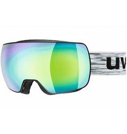 Uvex Masque de Ski Compact FM Noir Vert