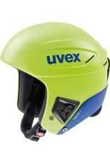 Uvex Race+ Helmet Lime Cobalt Mat