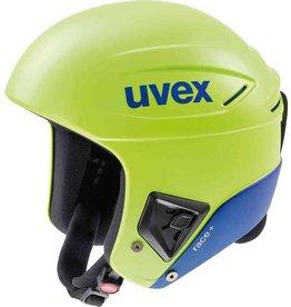 Uvex Casque de Ski Race+  Lime Cobalt Mat