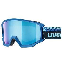 Uvex Athletic FM Skibril Cobalt Blauw