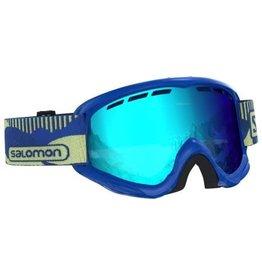 Salomon Juke Goggle Blue Pop Mid Blue