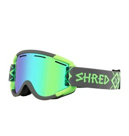 Shred Nastify Bigshow Goggle Grey Neon Green