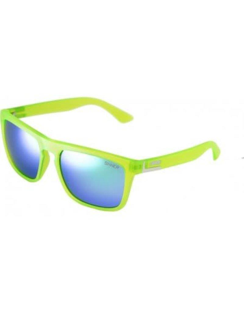Sinner Thunder Cry Sunglasses Matte Lime Green