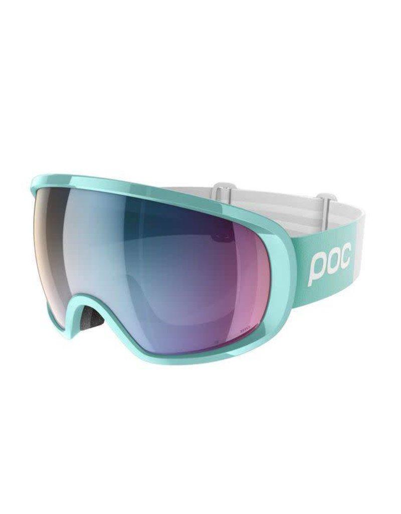 POC Fovea Clarity Comp Skibril Tin Blue Spektris Pink