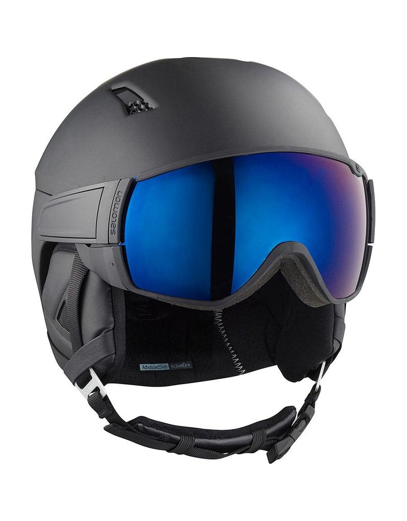 Salomon Driver Helmet All Black Solar