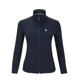 Peak Performance Sizzler Zipped Mid-Layer Blue Shadow