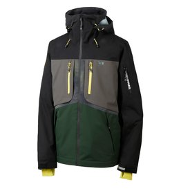 Rehall Halox-R Ski Jas Zwart Groen
