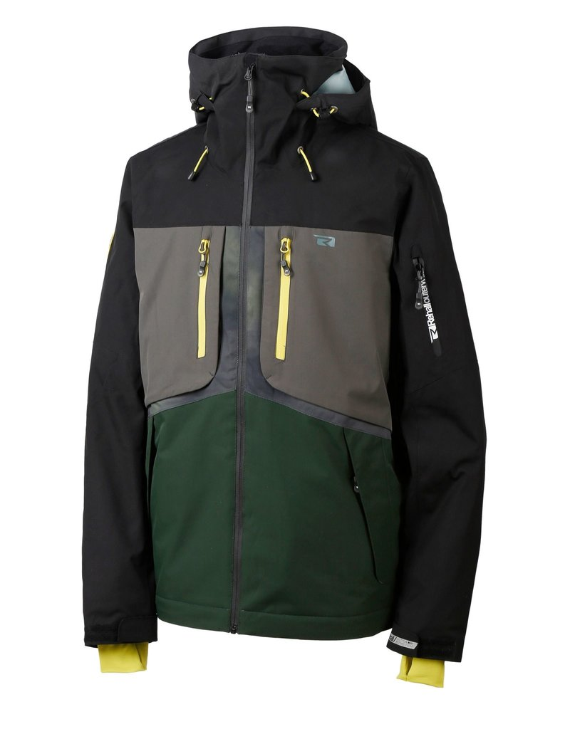 Rehall Halox-R Ski Jacket Black Green