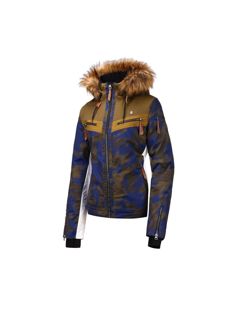 Rehall Hunter-R Dames Ski Jas Military Camo
