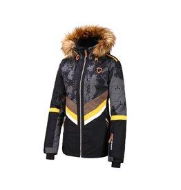 Rehall Women's Maze-R Ski Jacket Trashed Black
