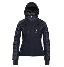 Goldbergh Women's Fosfor Ski Jacket Dark Navy