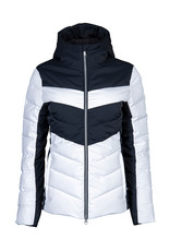 Stöckli Style Dames Ski Jas White Black