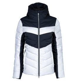 Stöckli Women's Style Ski Jacket  White Black