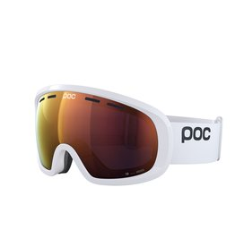 POC Fovea Mid Clarity Skibril Hydrogen White Spektris Orange
