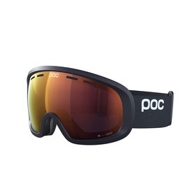 POC Fovea Mid Clarity Skibril Uranium Black Spektris Orange