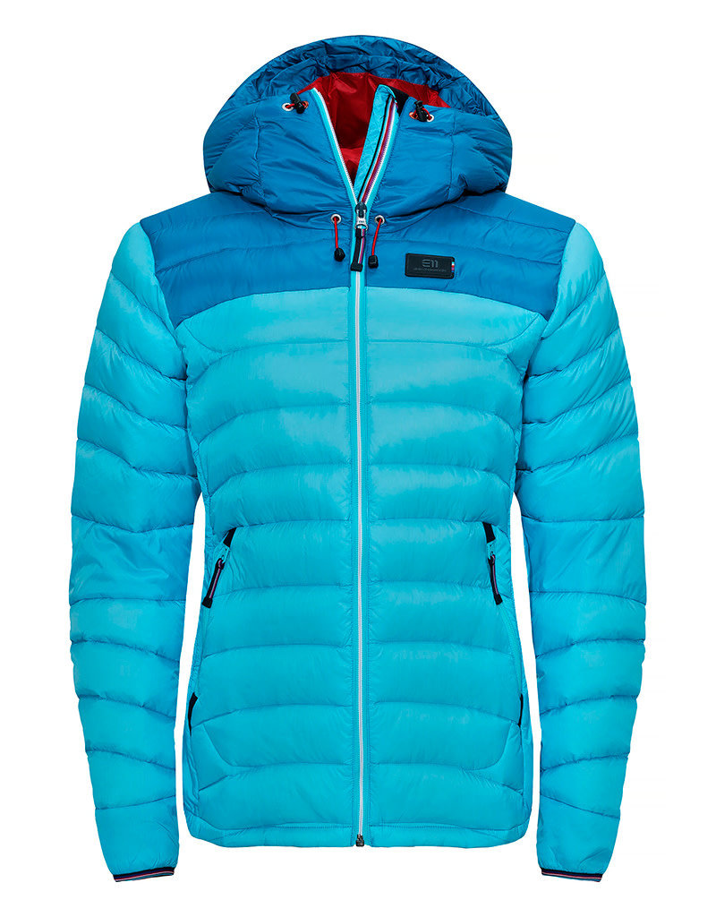Elevenate Women's Agile Ski Jacket Aqua Blue