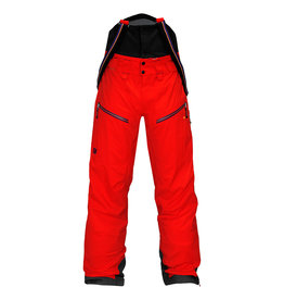 Elevenate Bec de Rosses Ski Pants Red Glow