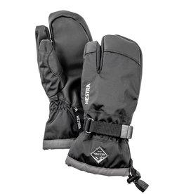 Hestra Gauntlet CZone Jr 3-Finger Black Graphite