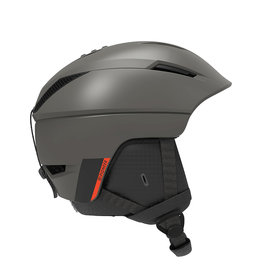 Salomon Pioneer Helm Beluga Neon Red