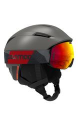 Salomon Pioneer Helmet Beluga Neon Red