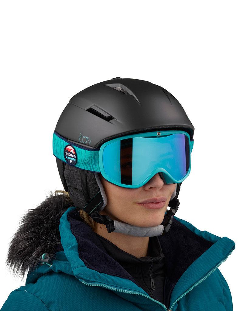 Salomon Icon2 M Helm Zwart