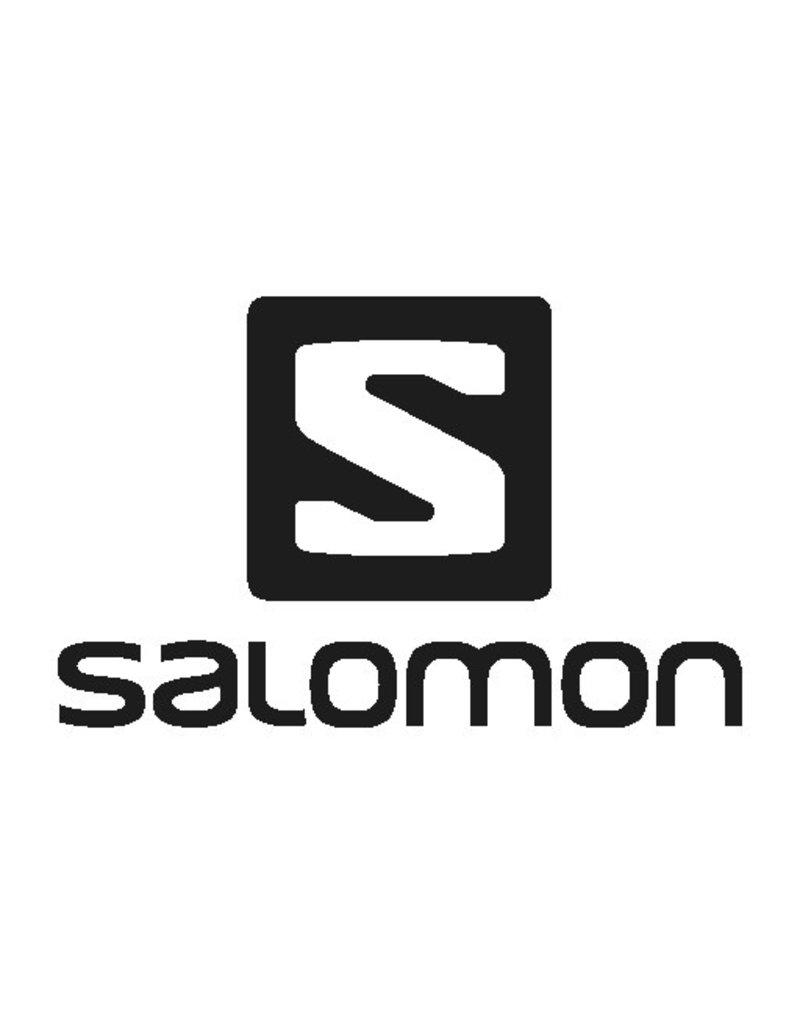 Salomon Driver Helmet Black Red Accent