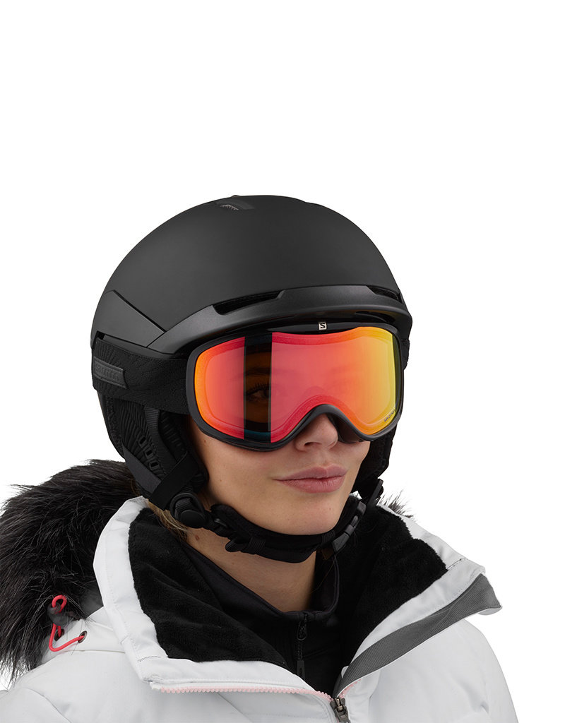 Salomon Quest Access Dames Helm Black Ray