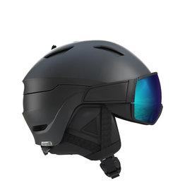 Salomon Driver S Helm Zwart Blauw