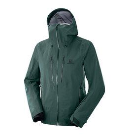 Salomon Icestar 3L Jacket Men Green Gables
