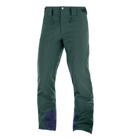Salomon Icemania Ski Pants Men Green Gables