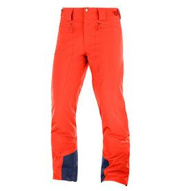 Salomon Icemania Ski Pants Men Cherry Tomato
