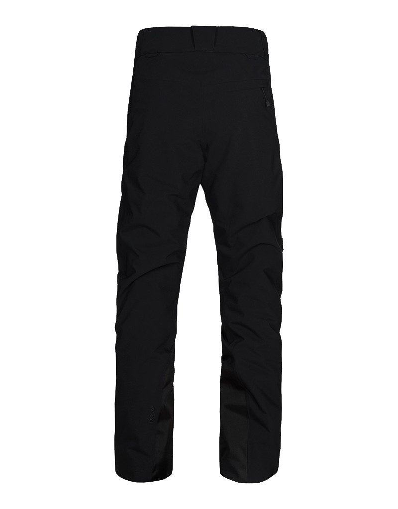Peak Performance Maroon Race Ski Pants Black