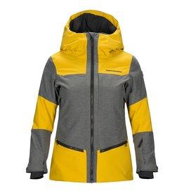 Peak Performance Women's Balmaz Ski Jacket Yellow Flow