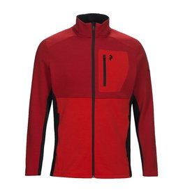 Peak Performance Helo Mid Zip Dark Chilli