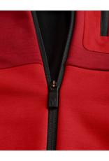 Peak Performance Helo Mid-Layer Zip Dark Chilli