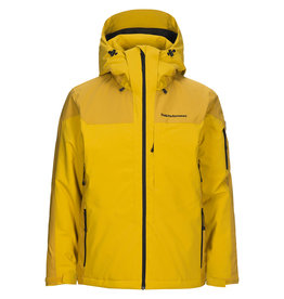 Peak Performance Maroon Race Ski Jas Smudge Yellow