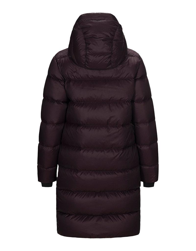 Peak Performance Women's Frost Down Coat Mahogany