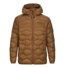 Peak Performance Helium Hooded Ski Jacket Honey Brown
