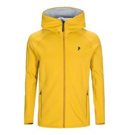 Peak Performance Chill Zip Hoody Yellow Flow