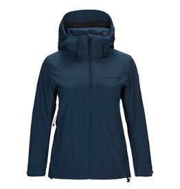 Peak Performance Women's Anima Ski Jacket Decent Blue