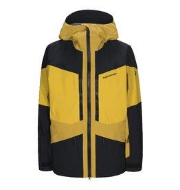 Peak Performance Men's Gravity Jacket Yellow Flow