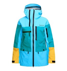 Peak Performance Vertical Dames Ski Jas Deep Aqua