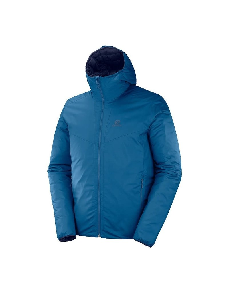 Salomon Drifter Loft Heren Hoodie Poseidon Night Sky