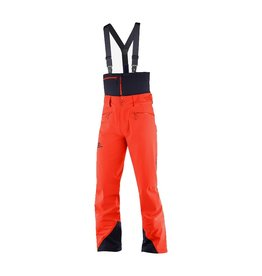 Salomon Icestar 3L Ski Pants Men Cherry Tomato