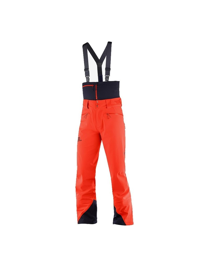 Salomon Icestar 3L Ski Pants Men Cherry Tomato