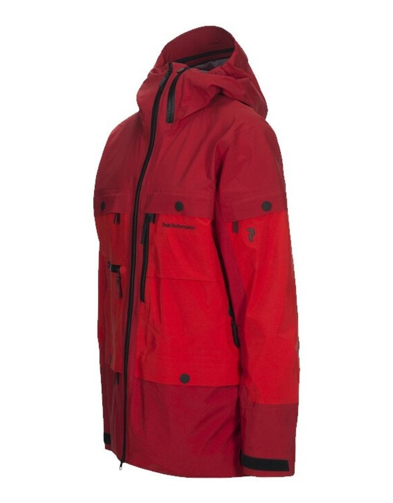 Peak Performance Vertical Ski Jacket Dark Chilli
