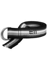 Elevenate Striped Belt Black